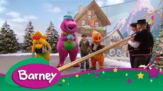 Barney's Around the World Adventure ✈️ Part 1 (Full Episode)