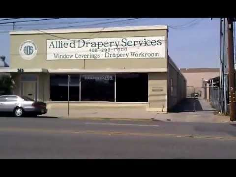 Allied Drapery & Window Coverings San Jose CA - storefront