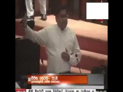 'Who Is KP's Son In Law?' Vijitha Herath Questions In Parliament