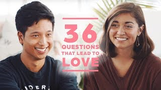 Can 2 Strangers Fall in Love with 36 Questions? Jonathan + Hannah