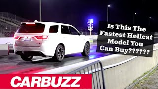 2021 Dodge Durango Hellcat Drag Strip Review: An Unstoppable Beast