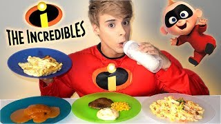 i only ate THE INCREDIBLES foods for 24 hours