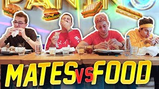MATES VS FOOD: 16 PANINI DA DIVORARE IL PRIMA POSSIBILE!! *non imitateci*