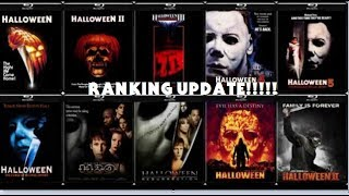 Halloween Series Ranking: Worst to Best (update)
