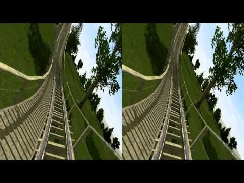 3D Rollercoaster: The Epic Run (3D for PC/3D phones/3D TVs/Crossed Eyes)