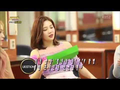 레드벨벳 컴백토크(멤버별Q&A,4행시 cut