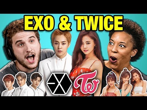 Adults React To K-Pop   EXO - Tempo & TWICE - YES or YES