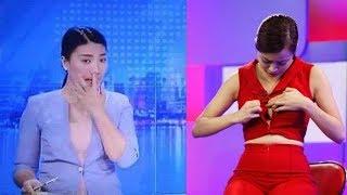 Những sự cố để đời của các sao Việt trên sóng truyền hình trực tiếp