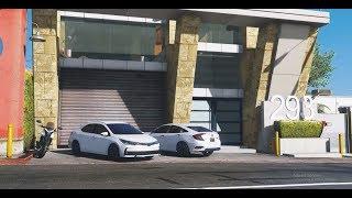 GTA 5 Real Life Mod #20 | URDU | Toyota Corolla 2019 OFF ROAD