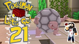 Pixelmon: Let's Go! - EP21 - MORE LEGENDARIES AND GYM BATTLE! (Minecraft Pokemon) #PixelmonLetsGo