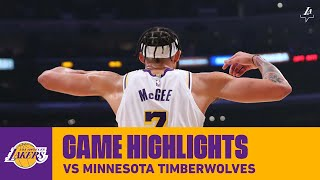 HIGHLIGHTS | Los Angeles Lakers vs. Portland Trail Blazers