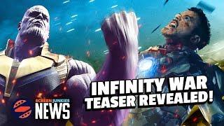 Avengers: Infinity War Teaser Reviewed! (D23 Marvel Breakdown!)