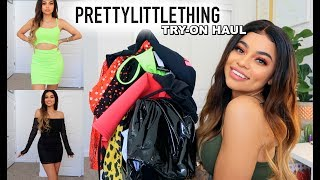 BOMB & CHEAP Summer Clothes! Pretty Little Thing HAUL