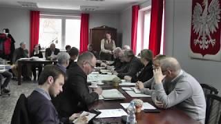 Dnia 22.03.2018r. w Ośrodku Kultury, Sportu i Turystyki odbyło się XLII posiedzenie Rady Miasta i Gmin