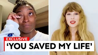 Taylor Swift SAVED Simone Biles Life.. That's Why She Got The Gracie Award!