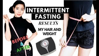 I tried Intermittent Fasting for 1 Week ( Before & After) Results -What it Did to My Hair & Weight