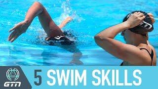 Top 5 Essential Swim Skills To Master   Triathlon Swimming Tips For Beginners