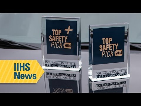 Thirty-nine vehicles meet tougher criteria to earn 2014 safety awards from IIHS