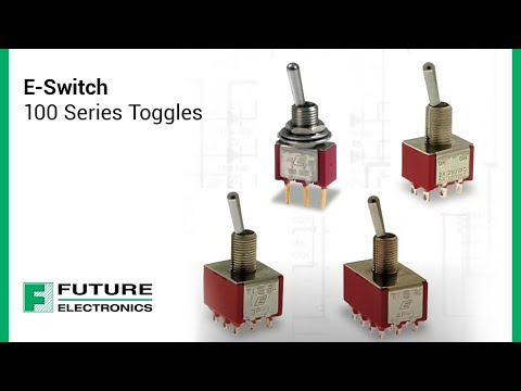 E-Switch 100 Series Toggles