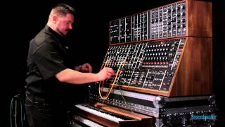 Moog System 55 Modular Synth by Daniel Fisher