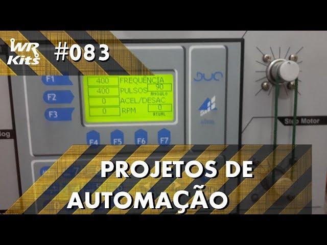 CONTROLE DE ÂNGULO DE MOTOR DE PASSO (parte 3) | Projetos de Automação #083