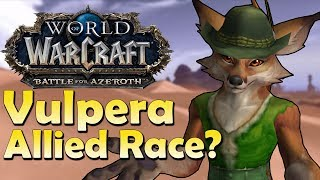 Vulpera - Allied Race Speculation | Battle for Azeroth