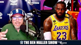 Lakers Could Lose In First Round of Playoffs If LeBron Doesn't Improve | Ben Maller