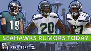 Seahawks Rumors: JJ Arcega-Whiteside Trade? Marquise Blair Position Change? + Rashaad Penny Future?