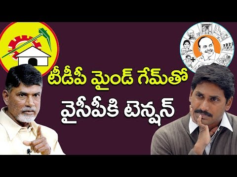 Tense situation in YSRCP over TDP 'mind game'