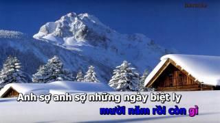 Tinh Chet Theo Mua Dong Karaoke Song Ca Voi Dan Nguyen
