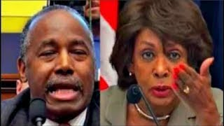Maxine Waters makes Ben Carson Squirm when asked about Trump's Tweets