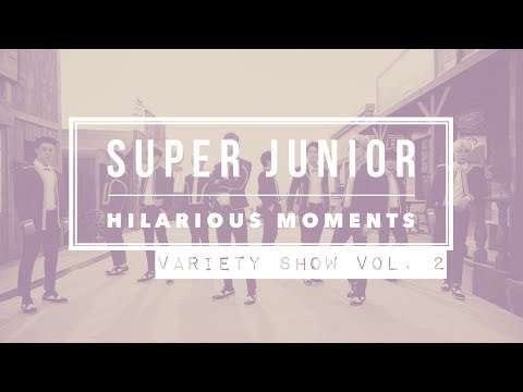 SUPER JUNIOR Hilarious Moments [Part 7] - Variety Show Edition VOL. 2