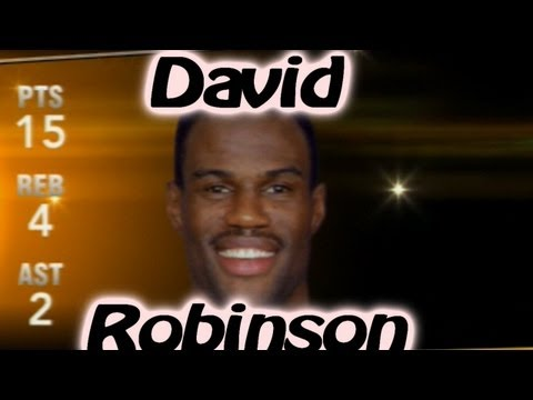 NBA 2K13 My Team - David Robinson - YouTube