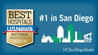 UC San Diego Health Ranked #1 in San Diego - US News and World Report