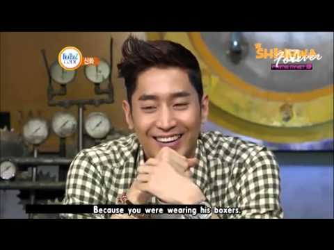 Shinhwa Eric & Minwoo underwear incident cut