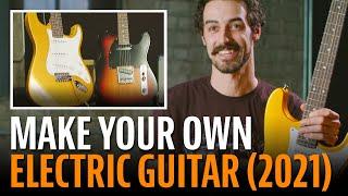 Watch the Trade Secrets Video, StewMac Electric Guitar Kits