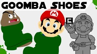 """Tips, Tricks and Ideas with Goomba Shoes in Super Mario Maker or """"The Shoe Princess"""""""