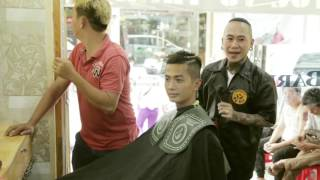 Nhóm hài Anh Em (N&M) đi cắt tóc hài vỡ mồm   FAP TV