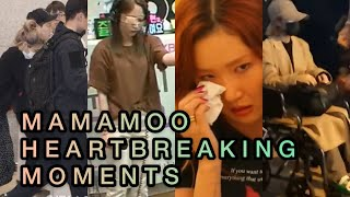 Mamamoo Heartbreaking Moments