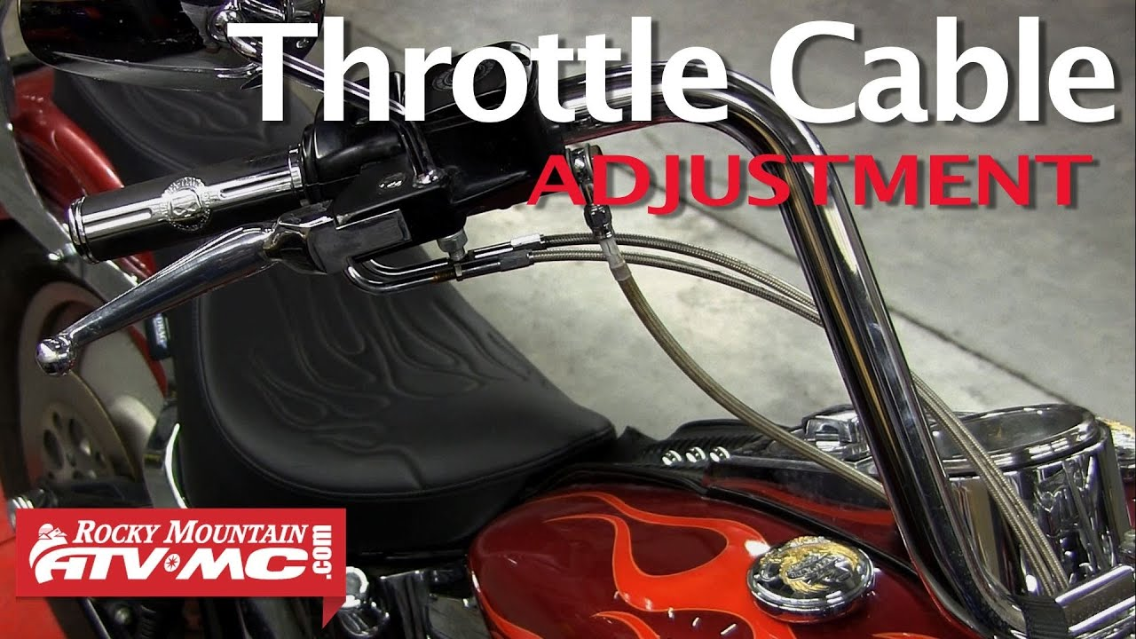 Throttle Cable Adjustment On A Harley Davidson Dual Cable