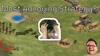 AoE2 - The Most Annoying Strategy? - YouTube