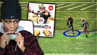 I Spent $6 On A Classic Madden Football Game ... Throwback Madden 11
