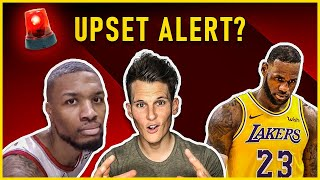 Trail Blazers are DANGEROUS to the Lakers in the NBA Playoffs [FIRST ROUND UPSET]