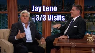 Jay Leno & Craig Ferguson Talking Their Scottish Mothers - 3/3 Visits In Chronological Order