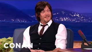 Norman Reedus Got A Breast Implant