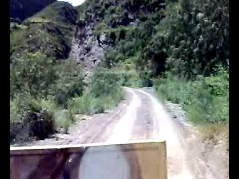 Carretera hacia Accha, camino vecinal
