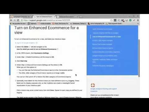 Tips for Enhanced Ecommerce Report with Google Analytics