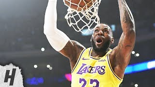 LeBron James - Best Dunks of 2018-19 NBA Season