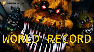 FNAF 4 WORLD RECORD: ANY % (31:37.61)