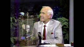 "Watch Johnny Carson get humiliated by a ""talking"" parakeet on The Tonight Show!"